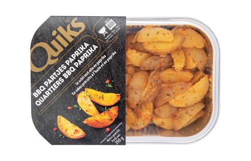 Aardappelpartjes in schil paprika - Quik's