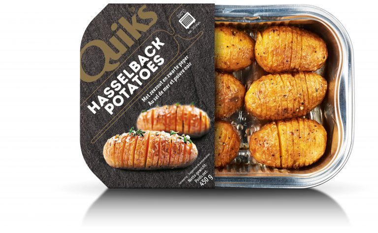 Hasselback Potatoes - Quik's