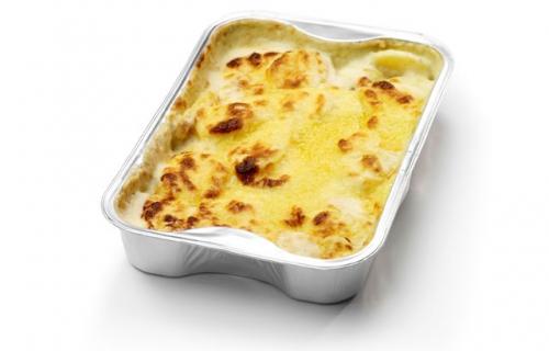 Aardappelgratin met geraspte kaas - Quik's
