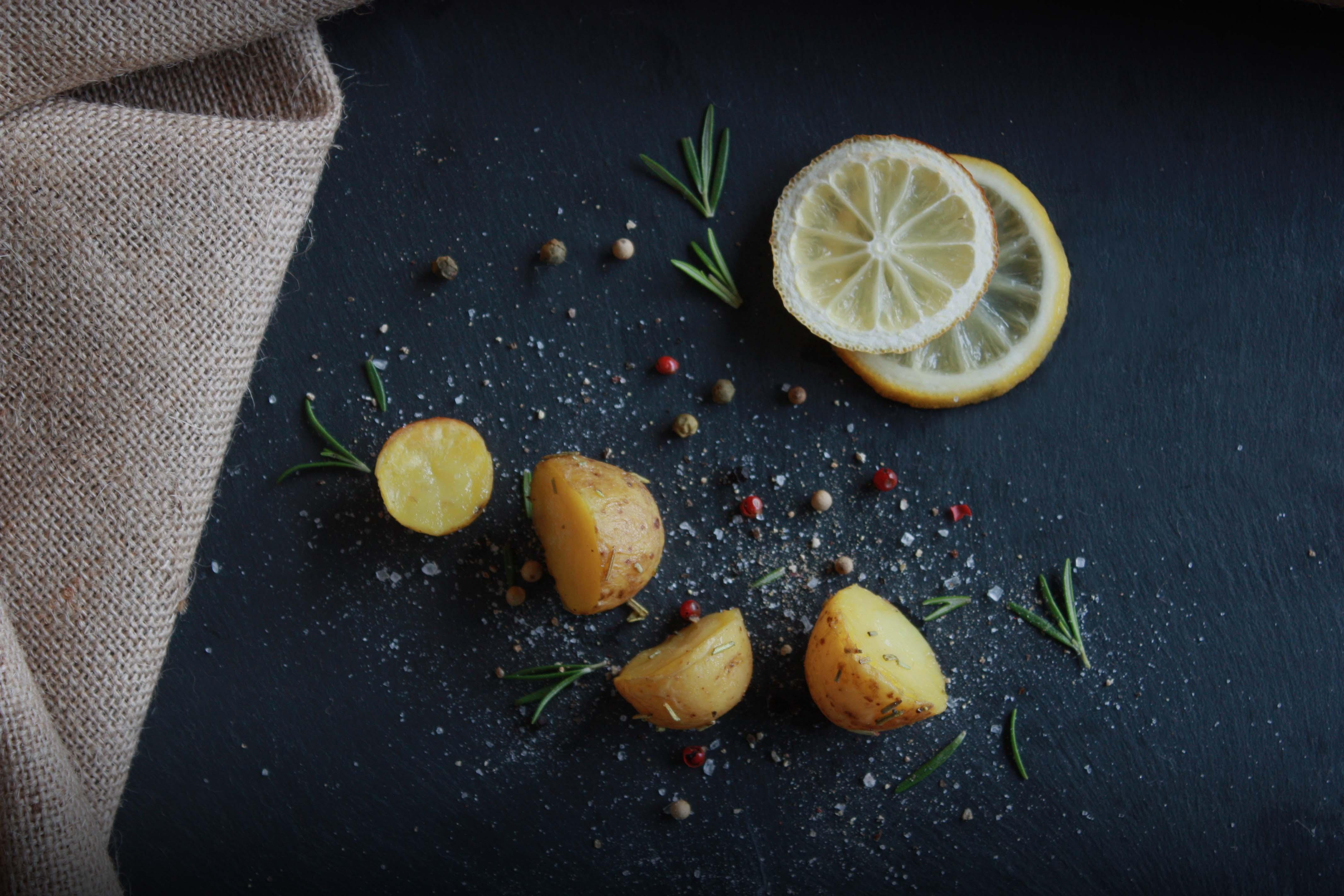 Halve kriel los met citroen – zwart filter
