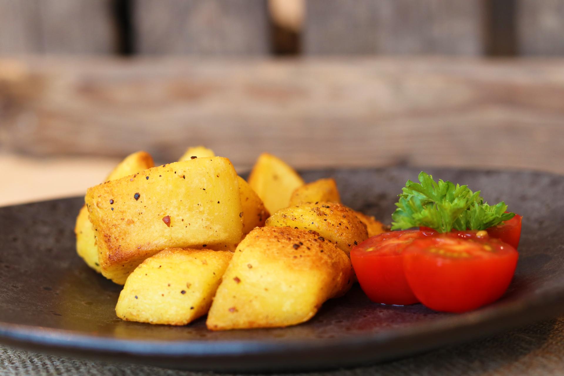 bewerkte roast potatoes